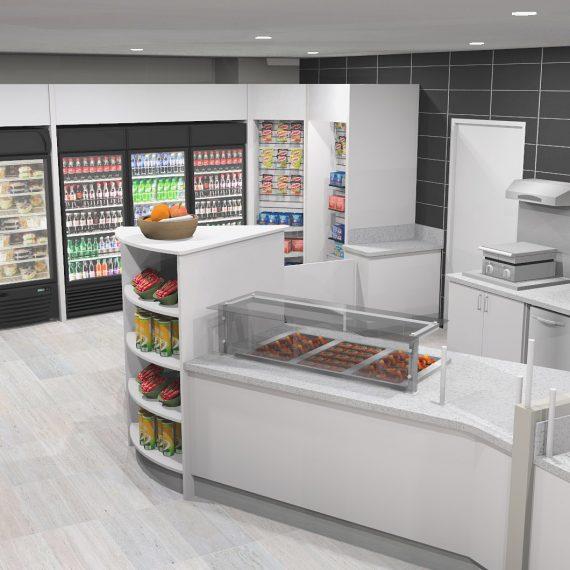 adp remodeled food service