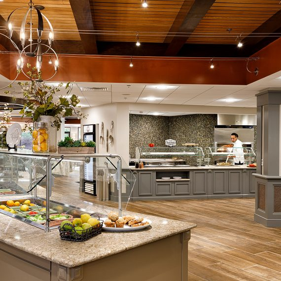 food service equipment for healthcare services