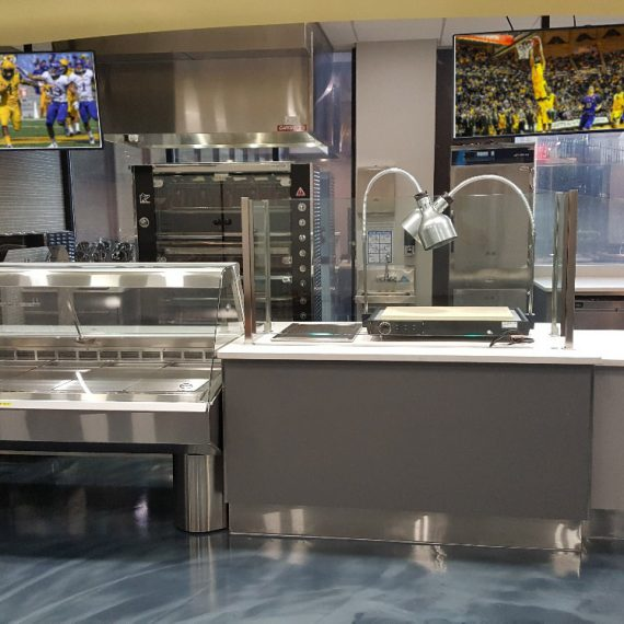 our equipment and kitchen services