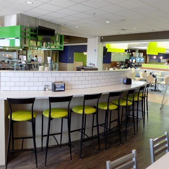 neumann university's serving & dining area renovation